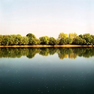"The River Dniester, 2011 Inkjet print, 40"" x 40"""