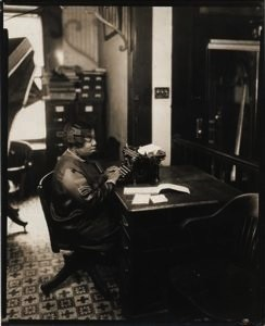 "James Van Der Zee ""Secretary, 1929"", Purchase James Van Der Zee, 1980"