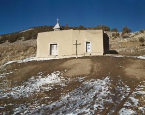 A chapel on a hill