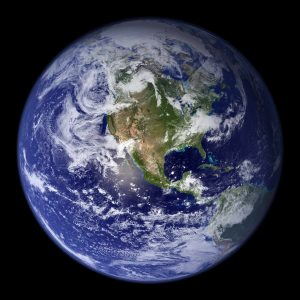 The Earth photographed from Hubble