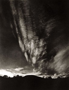 Equivalent, mountains and sky, Lake George, 1924