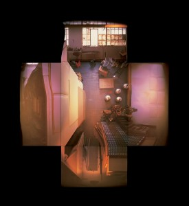 """Evicted May 1, 2000 (9 Hanna Avenue), 13 colour pinhole photos, 20"""" x 24"""", 2001, photo: Adrian Blackwell. Photo 3 — Peter Bowyer's Space."""