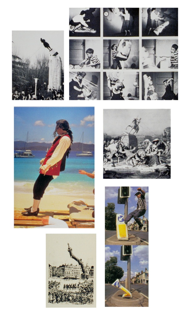 "Luis Jacob Album 1, 2000 Photo-montage in plastic sheets, 50 panels18 x 12""each Courtesy the artist, Birch Contemporary, Toronto, and Galerie Max Mayer, Düsseldorf"