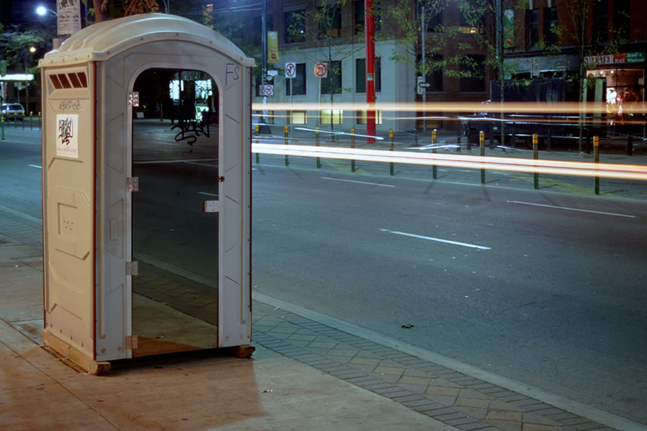 Portable Toilet Exhibition : Adrian blackwell s anarchitecture the anarchist tension