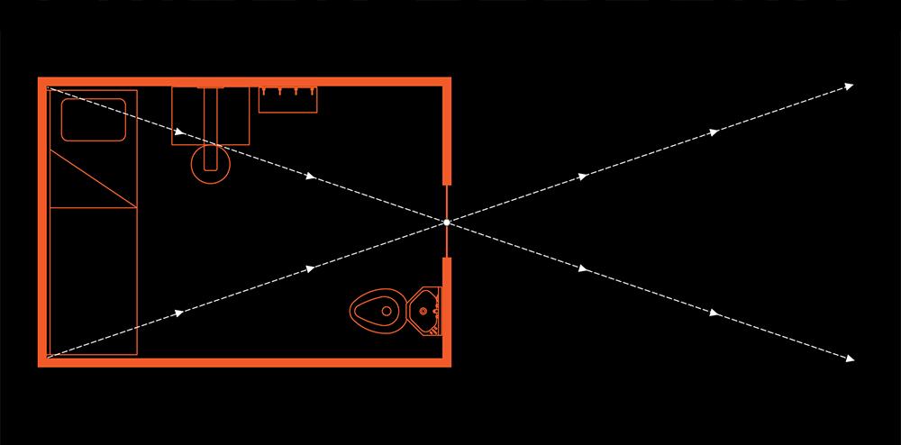 Prison Obscura Cell Illustration