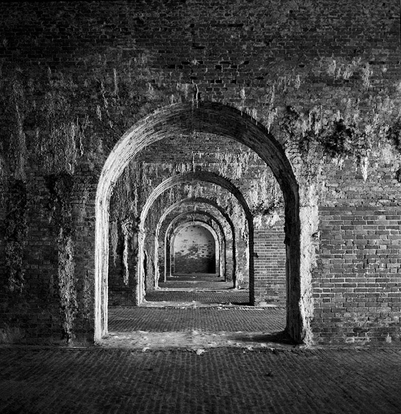 Interior, Fort Morgan, Battle Site, Mobil Bay, Alabama ...