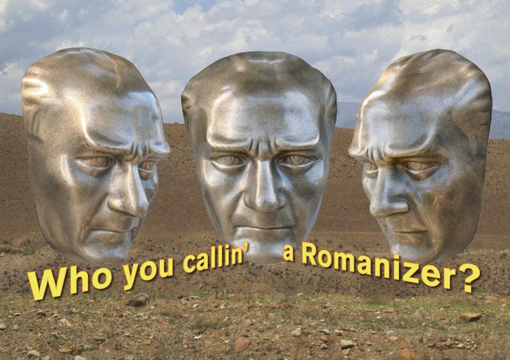 who you callin' a Romanizer?
